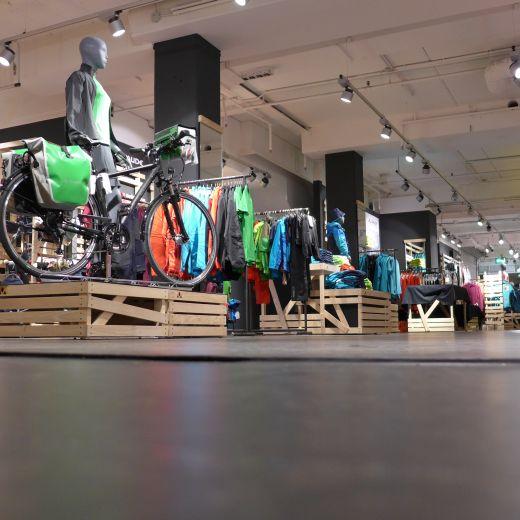VAUDE Franchise Store Ludwigsburg - Photo Credit: VAUDE / Weishaupt
