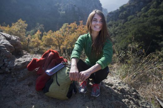 Vapur Flasche beim Trekking im EInsatz - Fotocredit: VAPUR
