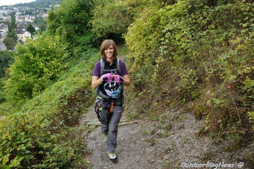 Klettersteig Boppard : Klettern in boppard auf dem mittelrhein klettersteig news