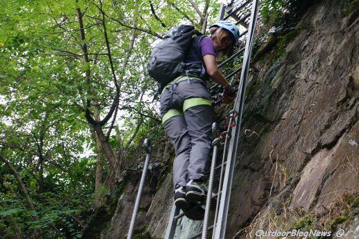 Klettersteig Rheinsteig Boppard : Der mittelrhein klettersteig bei boppard