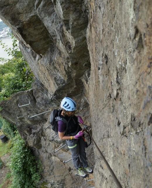 Boppard - Mittelrhein Klettersteig Bild 035