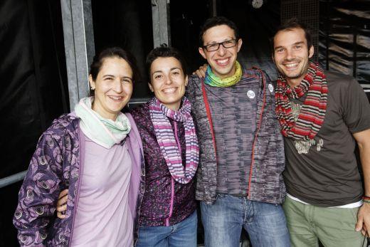 Elisabeth Torras, Anna Monteagudo, Khaled Battikh, Jordi Clapés - Bild: Original Buff