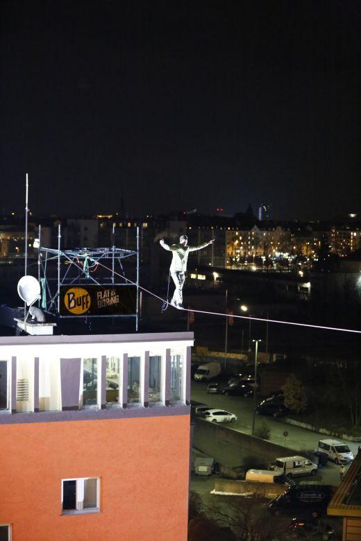 Über den Dächern der Kultfabrik - Copyright Original Buff