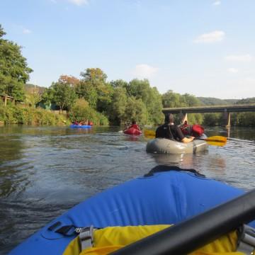Land-Fluss-Tour mit Packrafts im Nahetal 0046