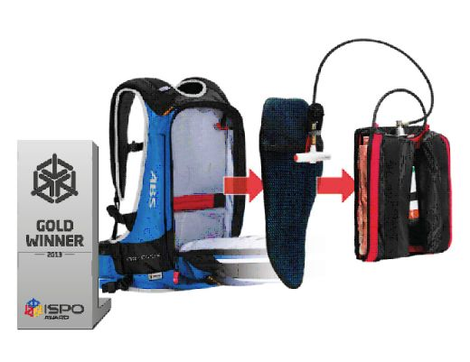ORTOVOX AIRBAGSYSTEM M.A.S.S. - MODULAR AIRBAG SAFETY SYSTEM - Fotocredit: ORTOVOX