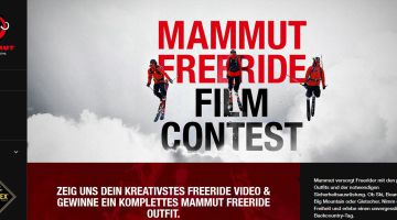 Mammut Freeride Film Contest