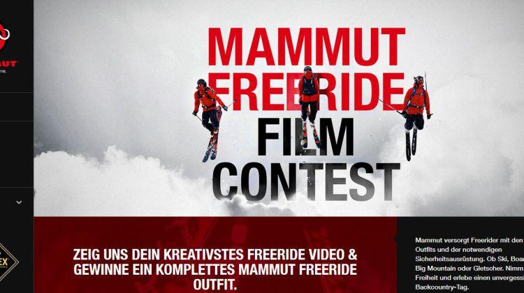 Mammut Freeride Film Contest