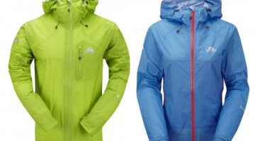 Das Mountain Equipement Micron-& Lattice-Jacket aus Drilite-Ultra-Light. - Fotocredit: Mountain Equipment