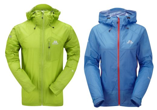 Das Mountain Equipement Micron-& Lattice-Jacket aus Drilite-Ultra-Light. - Fotocredit: Mountain Equipment