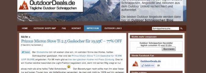 OutdoorDeals.de