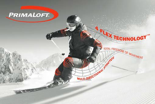 PrimaLoft® with 4FLEX Technology - Bild: Primaloft