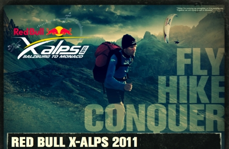 Bild: Red Bull X-Alps 2011