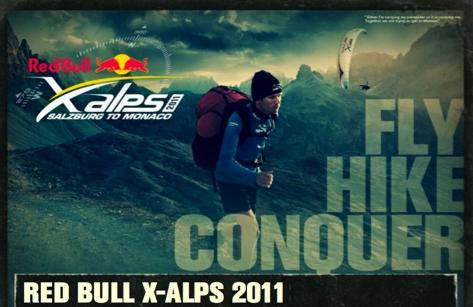 Bild: Red Bull X-Alps 2011