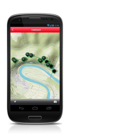 Rother Android App Guide-Karte - Fotocredit: Bergverlag Rother