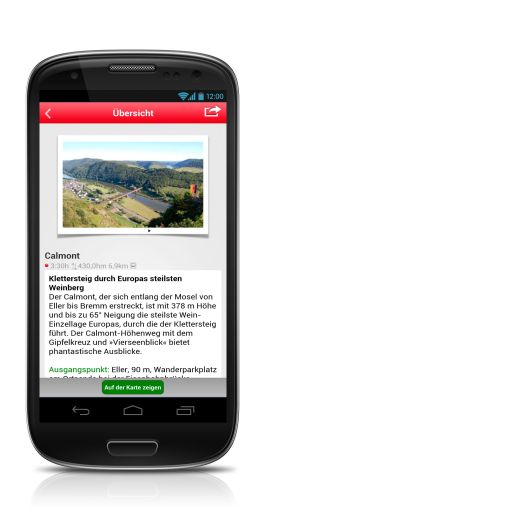 Rother Android App Guide-Übersicht - Fotocredit: Bergverlag Rother