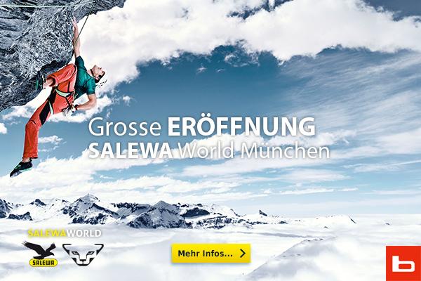 Salewa World München eröffnet am 4.4 die Tore - Fotocredit: Bergzeit