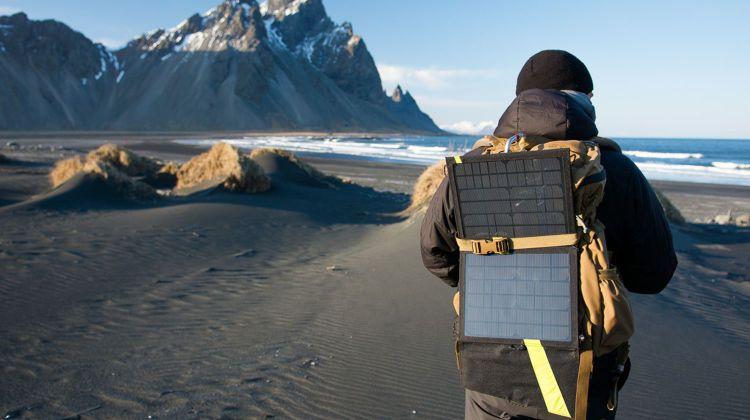 Goal Zero Nomad Solar Panel , Foto: C. Burkard - GOAL ZERO