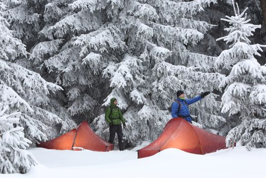 Nordisk Telemark 1 und Nordisk Telemark 2 im Wintertest - Fotocredit: Nordisk