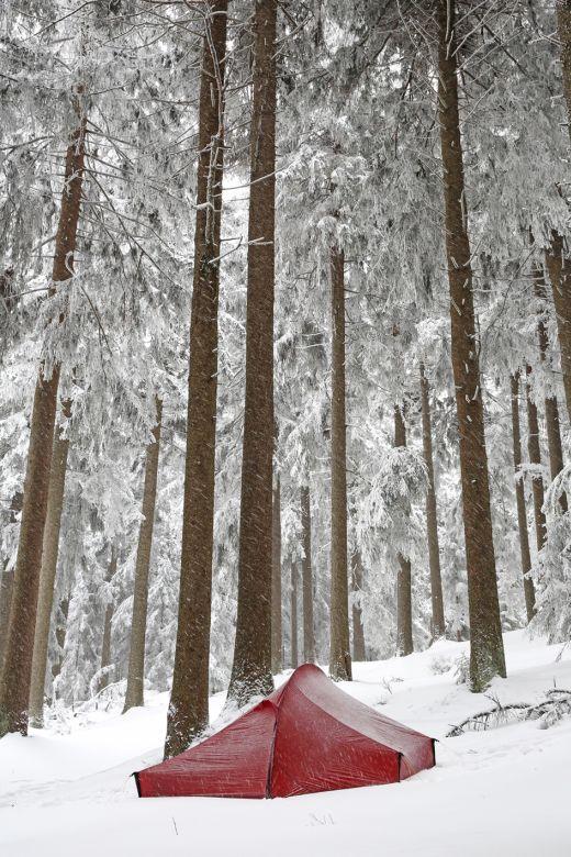 Nordisk Telemark im Schnee - Fotocredit: Nordisk