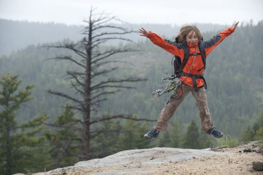 Dylan Zellers in the Eastern Sierra's, California. Photo: Corey Rich