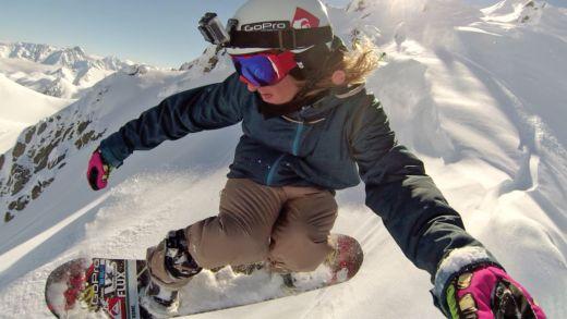 Snowboard Eric Spinny - Bild: GoPro